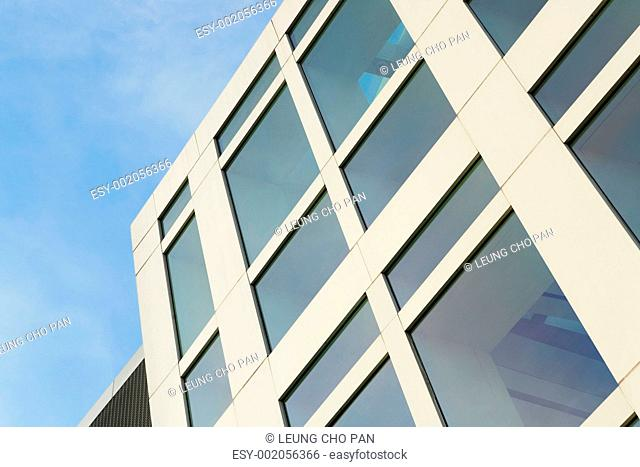 glass building wall