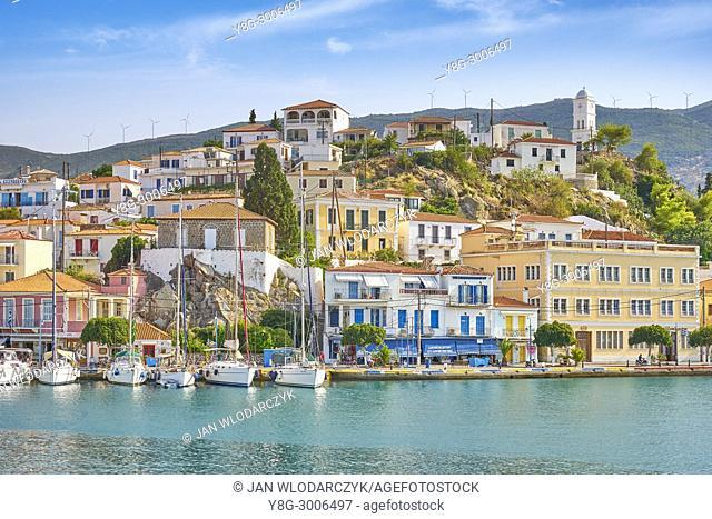 Island of Poros, Argolida, Peloponnese, Greece