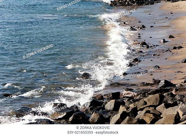 Playa Papagayo,Lanzarote,Spain