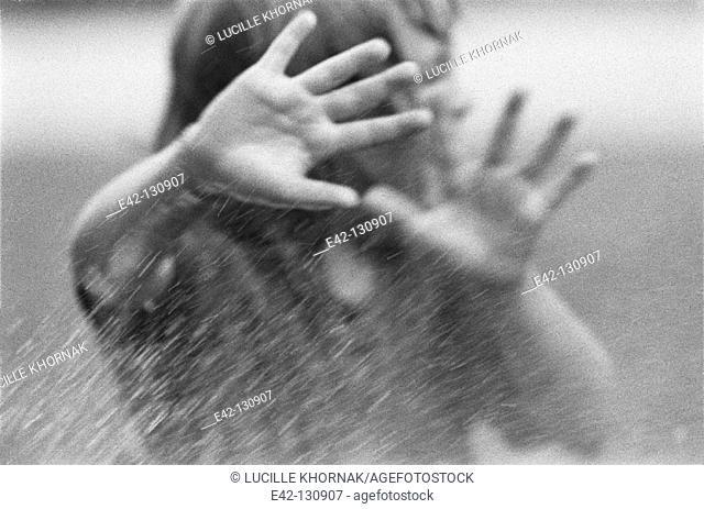 Child's hands