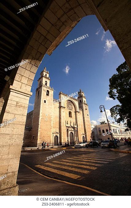 Catedral de San Idelfonso. S. XVI.-Cathedral of San Idelfonso, Merida, Yucatan Province, Mexico, Central America