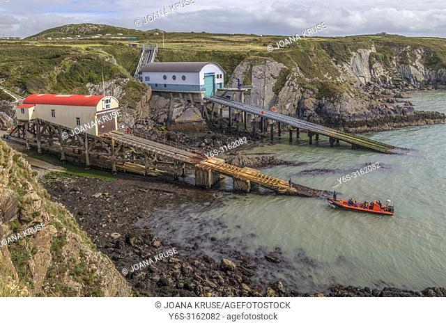 St Davids Lifeboat Station, St Davids, Pembrokeshire, Wales, UK, Europe