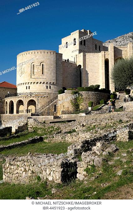 Skanderbeg Museum at Kruja Fortress, Kruja, Durres, Albania