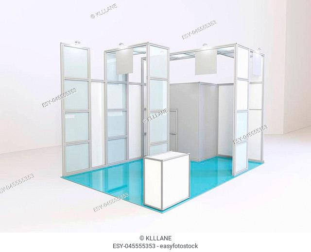 Exhibition Stall Posters : Stall with the posters stock photos and images age fotostock