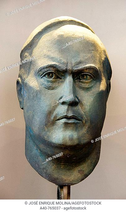 Paraguay. Bust of Don Carlos Antonio López constitutional president of Paraguay from 1844 to 1862