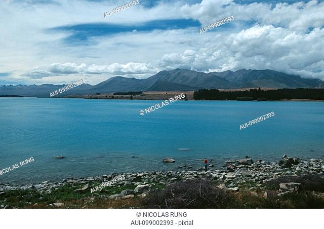New Zealand - South Island - Aorangi - Lake Tekapo and Two Thumb Range