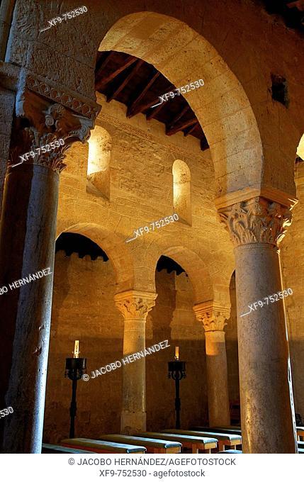 Basílica visigoda de San Juan. S.VII. Baños de Cerrato. Palencia. Castilla y León. España