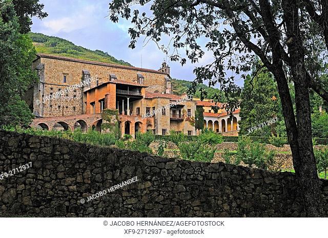 Monastery of Yuste.Cuacos de Yuste.Cáceres province.Extremadura.Spain