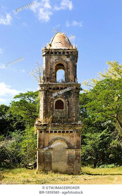 Ruins of the San Isidro sugar refinery, Valle de los Ingenios, Valley of the sugar refineries, Trinidad, Unesco World Heritage Site, Sancti Spiritus Province