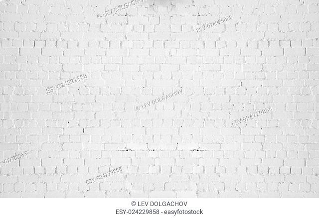 brickwork, masonry and texture concept - gray brick wall background