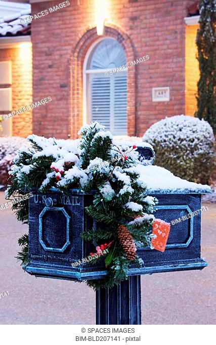Mailbox in Winter