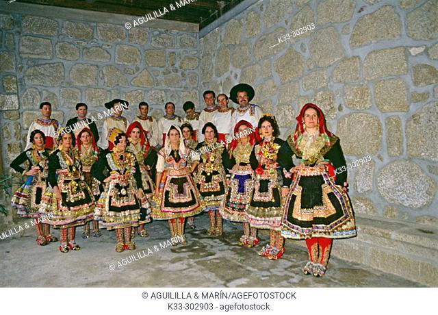 'Lagartera' costumes. Toledo. Castilla-La Mancha. Spain