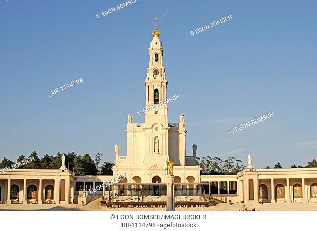 Basilica Antiga, Fatima, place of pilgrimage, Central Portugal, Portugal, Europe