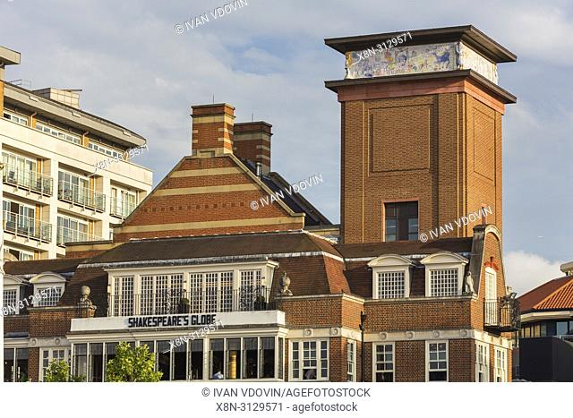 Shakespeare's Globe Theatre, Bankside, London, England, UK