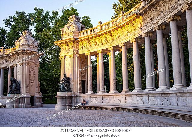 Retiro Park. Madrid. Spain