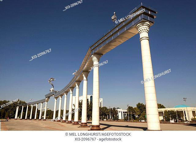Ezgulik Independence Arch, Independence Square, Mustakillik Maydoni, Tashkent, Uzbekistan