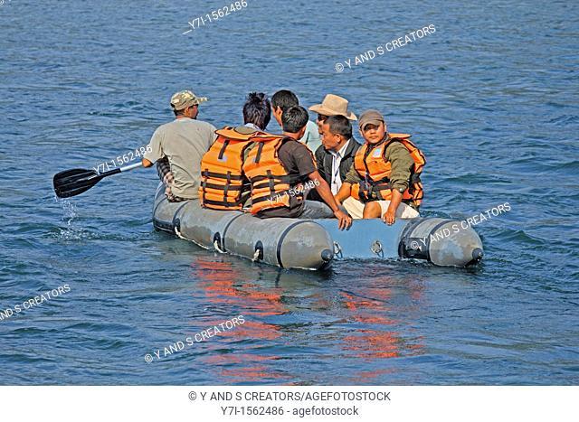 Rafting in Debang River, Miao, Namdapha National Park, Arunachal Pradesh, India