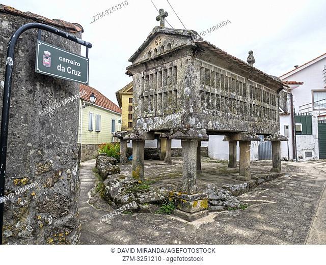 Hörreo en Combarro. Pontevedra. Galicia. España