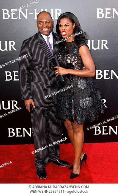 Los Angeles premiere of 'Ben-Hur' held at the TCL Chinese Theater IMAX - Arrivals Featuring: Omarosa Manigault, Dr. John Allen Newman Where: Los Angeles