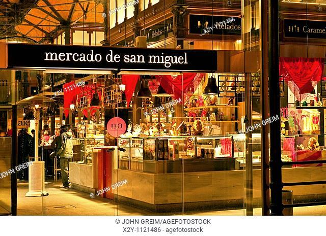 Mercado de san Miguel, Madrid, Spain