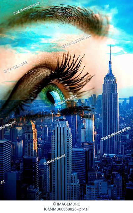 New Technology, Futuristic, Eyes