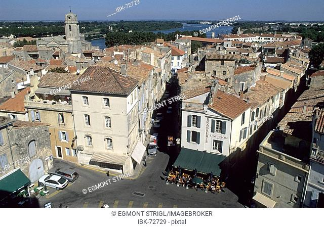 View of Arles, Provence, France