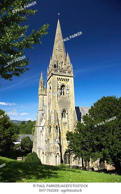 Llandaff Cathedral, Cardiff, Wales, UK