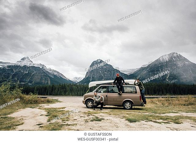 Canada, Alberta, Banff National Park, Rocky Mountains, Icefields Parkway