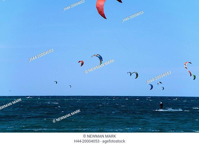 kite surfing, la ventana, Baja, Mexico
