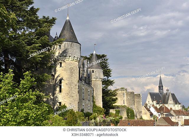 Chateau of Montresor, Touraine, department of Indre-et-Loire, Centre-Val de Loire region, France, Europe