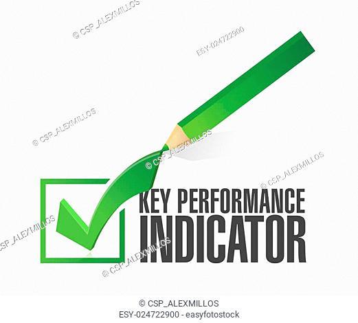 key performance indicator check mark