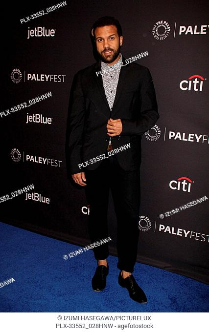"""O-T Fagbenle 03/18/2017 PaleyFest 2018 """"""""The Handmaid's Tale"""""""" held at The Dolby Theatre in Hollywood, CA Photo by Izumi Hasegawa / HNW / PictureLux"""