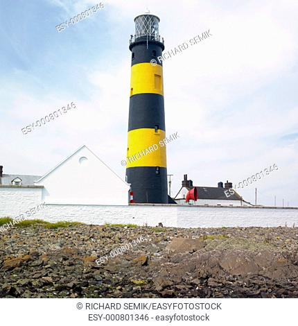 lighthouse, St  John''s Point, County Down, Northern Ireland