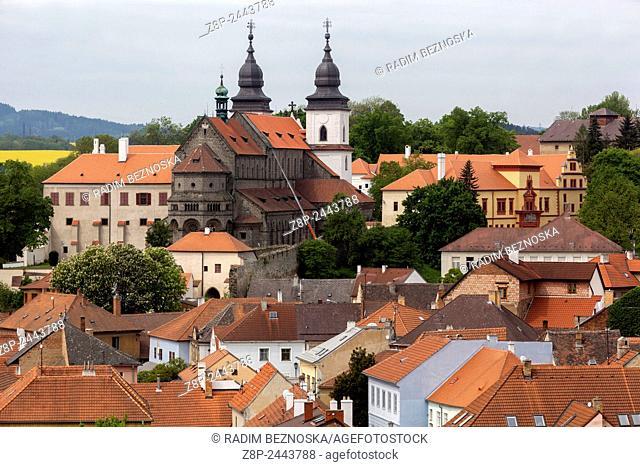 Basilica of St Procopius Romanic Gothic 13th Cent Trebic UNESCO Czech Republic