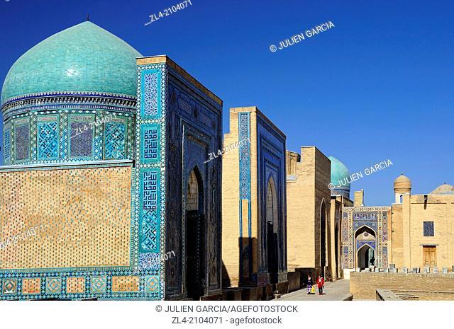 Shah-i-Zinda necropolis. Uzbekistan, Samarkand