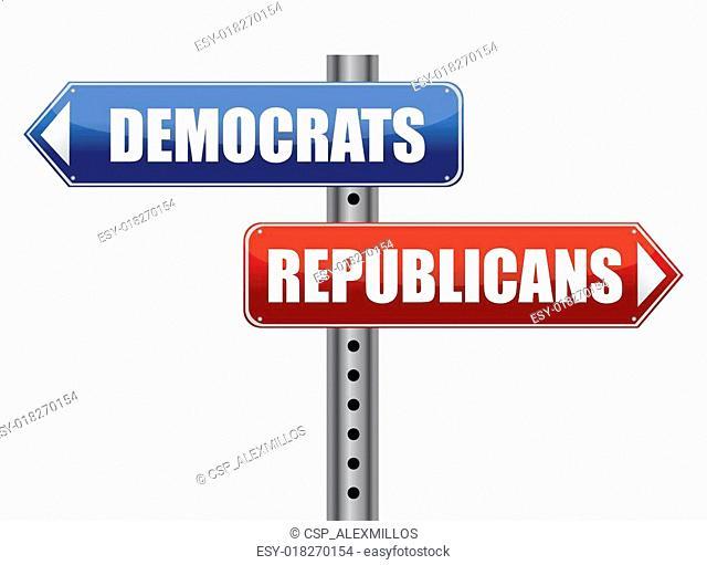Democrats and Republicans election