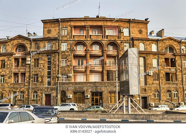 Vintage house, Yerevan, Armenia