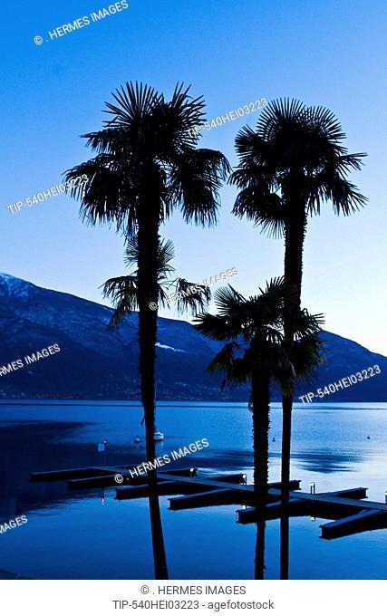 Switzerland, Ticino Canton, Lago Maggiore, Ascona