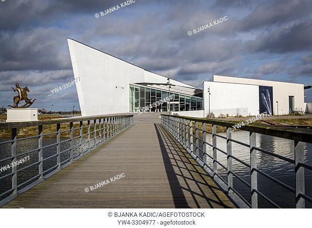 ARKEN Museum of Modern Art, Main facade and entrance, Copenhagen, Denmark
