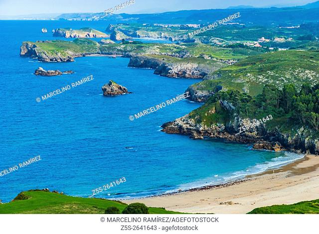 Beach Toranda. Niembro, LLanes, Asturias, Spain