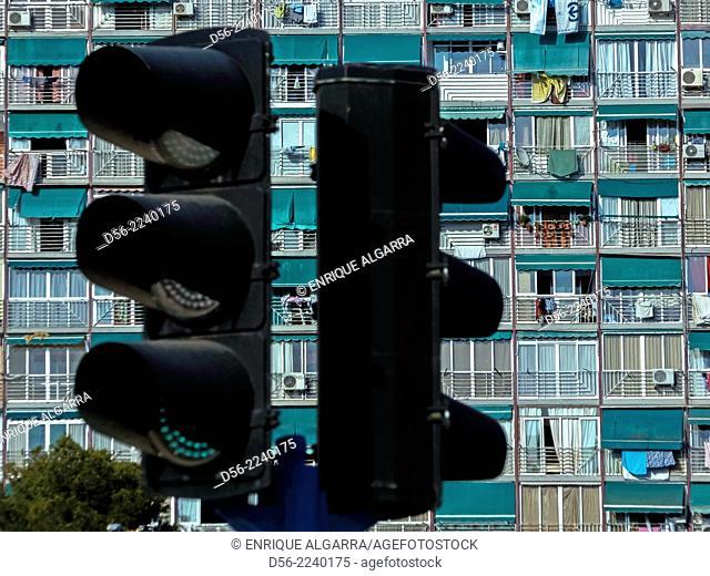 Apartments, Benidorm, Alicante province, Spain