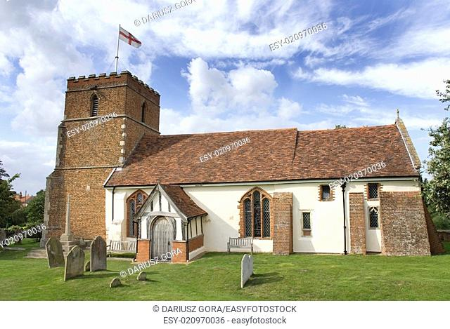 Village church, Levington, Suffolk, UK