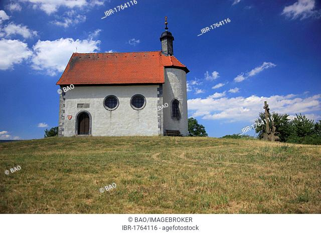 Gangolfskapelle chapel at Fladungen, Rhoen-Grabfeld district, Lower Franconia, Bavaria, Germany, Europe