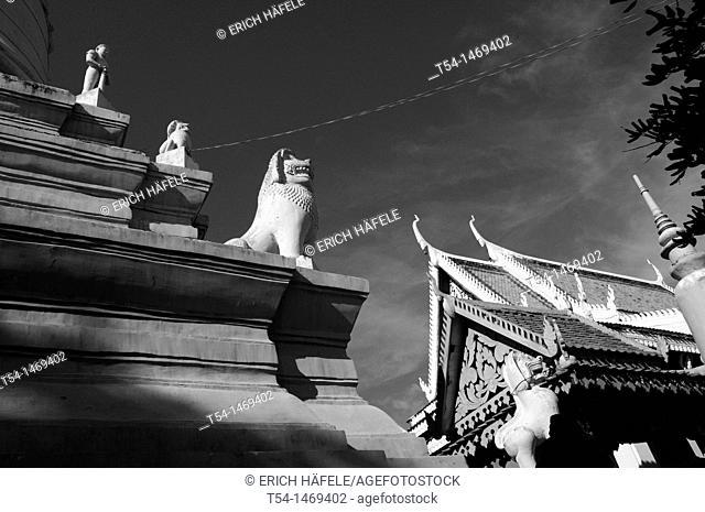 Wat Phnom Pagoda in Phnom Penh