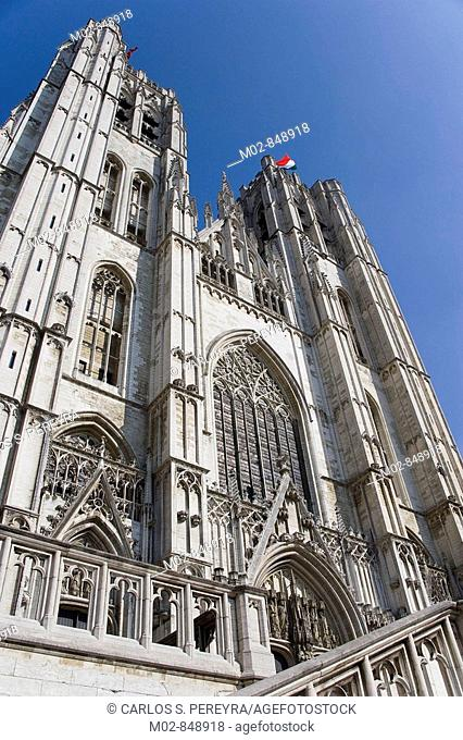 St Michel et Ste-Gudule Cathedral, Brussels, Belgium