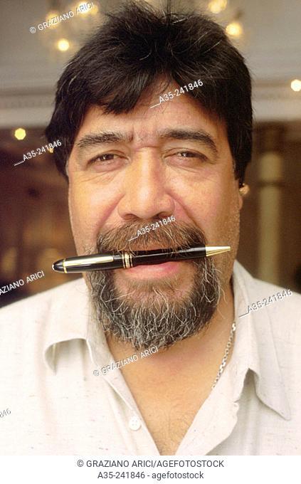 Luis Sepúlveda, Chilean writer, 1998