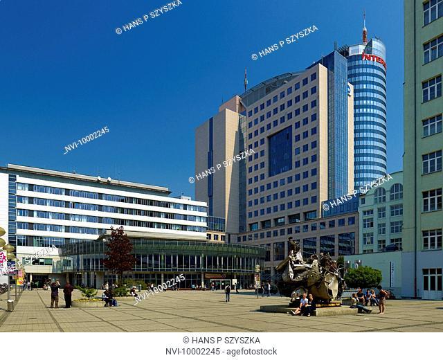 Ernst-Abbe-Platz, Jena, Thuringia