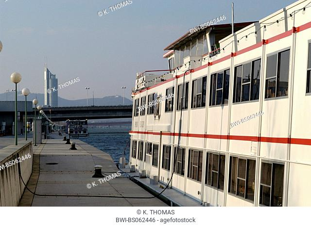 Vienna, ship Prinz Eugen at Handelskai, Austria, Vienna, 2. district, Vienna - Handelskai