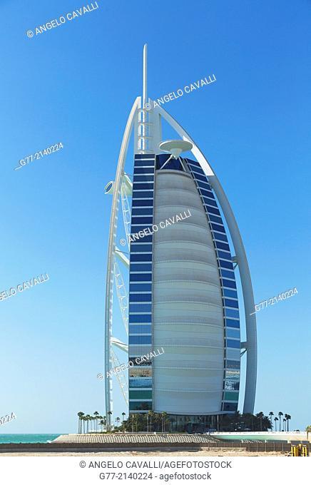Burj Al Arab Hotel, Dubai, United Arab Emirates (UAE)