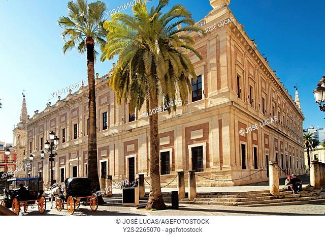 Archivo General de Indias, Seville, Region of Andalusia, Spain, Europe